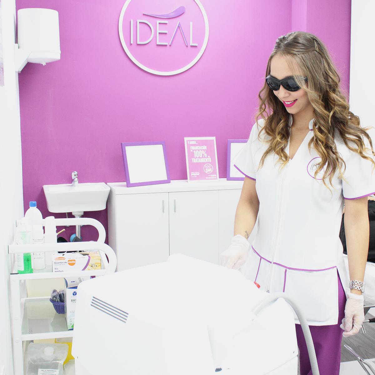 depilación brasileña o depilación del pubis parcial con láser