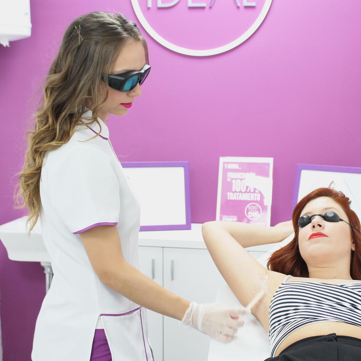 el láser diodo, la técnica de depilación láser femenina definitiva