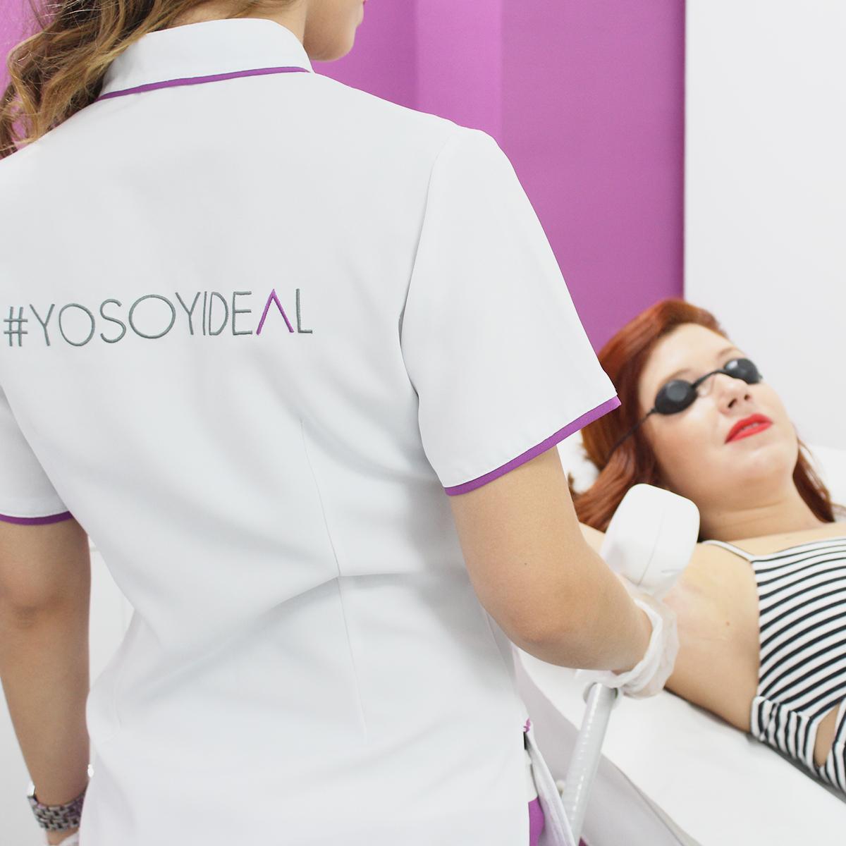 depilación femenina con láser diodo