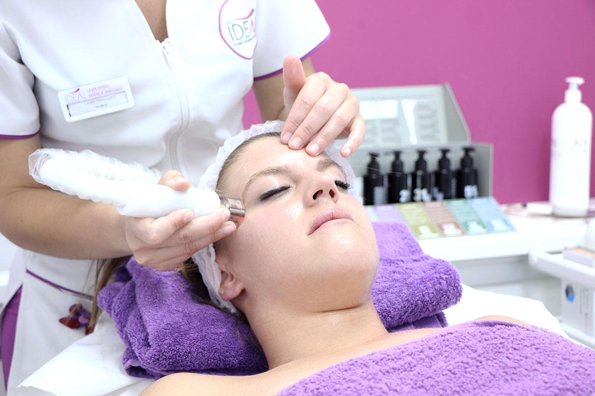 tratamiento de radiofrecuencia facial con cyclone